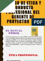 Código de Etica y Conducta Profesional Del Gerente