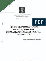 Curso Proyectos Instalaciones Climatización Adaptado Al Nuevo CTE