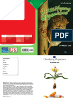 classifying organism