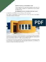 Impresión en 3d en La Ingenieria Civil