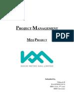 Project Management Mini