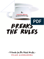 Coffee break Screenwriter Breaks the Rules sample PDF