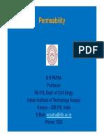 Permeability NRP 2017 -18