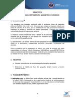 ANÁLISIS GRANULOMÉTRICO PARA ÁRIDOS FINOS Y GRUESOS