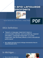 speech and language disorders  1
