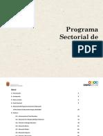 Programa Sectorial de Educación 2013-2018 Chiapas