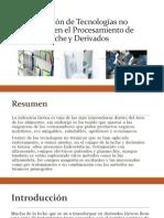 Aplicación de Tecnologías No Térmicas en El Procesamiento (1)