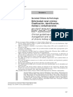 insuficiencia renal crónica clasificación