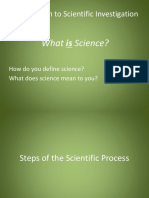 Steps of the Scientific Method MYTHBUSTERS Elephant