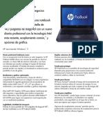 HP partes ProBook