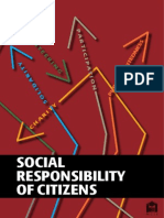 Social Responsibility of Citizens
