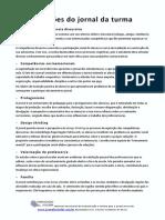 Contribuições Do Jornal Da Turma