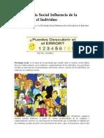 La Psicologia Social Influencia de la Sociedad en el Individuo.docx