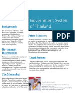 government status of thailand