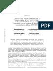 ¿Innovar Para Exportar o Exportar Para Innovar_ Un Análisis a Nivel de Firma de La Industria Manufacturera Chilena, 1995-2010