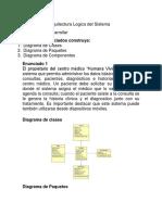 Diseño de La Arquitectura Logica Del Sistema Laboartorio7