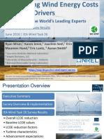 Expert Elicitation Survey on Future Wind Energy Costst Reduction