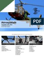 Aerospatiale Gazelle SA342 FSX P3D Quick Manual