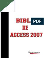 Biblia del acces 2007