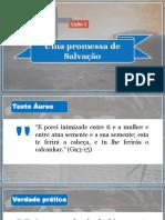 Lição 1 - Uma Promessa de Salvação (1)