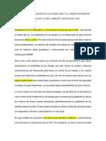 Análisis de Evaluación de La Estabilidad y El Diseño Pendiente en Sandsloot a Cielo Abierto