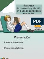 Prevención Atención Uso de Sustancias y Enervantes