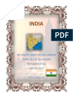 La Economia de India
