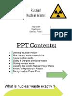 chem  final -nuclear waste-