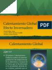 Calentamiento Global y Efecto Invernadero