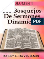 500 Bosquejos De Sermones Dinamicos -- Volume 1 (Spanish Edition) - Davis, Barry L_.epub