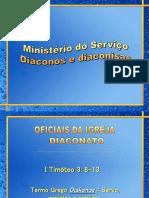 Ministério Do Serviço Do Diaconato