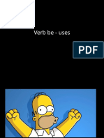 Verb Be Uses