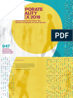 HRC Corporate Equality Index 2018