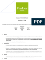 Wills - Making a Will Information Sheet