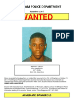 Moore Bolo WANTED