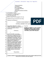 Lawsuit Filed On Behalf Of Cambodian Detainee