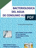Calidad Bacteriologica Del Agua Potable
