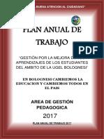 Plan Anual de Trabajo Ugelb 2017