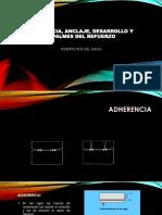ADHERENCIA, ANCLAJE, DESARROLLO Y EMPALMES DEL.pdf