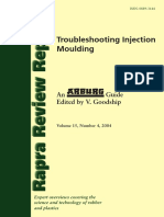 (Arburg) Troubleshooting Injection Moulding