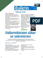 Oktober Bulletinen