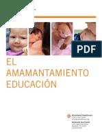 Amamantamiento-educación