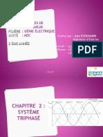 SI ADC Chapitre 2 Systèmes Triphasés