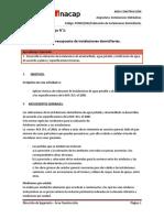 G03. Cubicación de Instalaciones Domiciliarias.