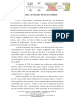 Etica e Pesquisa Em Educacao Texto Para Discussao 1