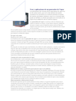 Usos y Aplicaciones de Un Generador de Vapor