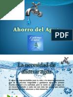 Ahorro d Agua