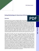 2009 October Rating Methodology Oil Co