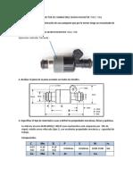 Fabricación de Inyector de Combustible Delphi Rochester 750cc 72lb