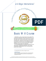 Basic Will Course
